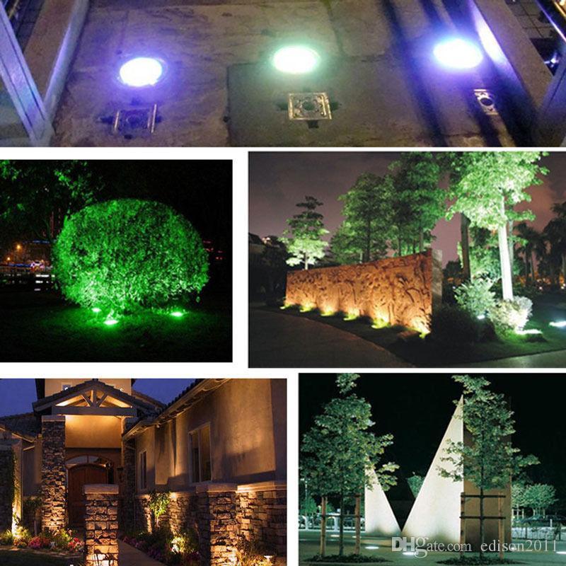 Edison2011 3W LED تحت الأرض ضوء DC12V AC85-265V IP67 للماء دفن مصباح راحة الطابق في الهواء الطلق المناظر الطبيعية مصباح درج