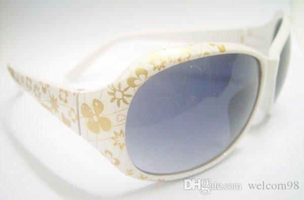 10 قطعة / الوحدة مزيج نمط سيدة النساء الأزياء والاكسسوارات uv حماية الشمس النظارات الشمسية للعيون GL8