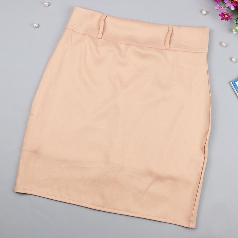 Doble premio 2016 Nueva moda para mujeres Paquete de traje de trabajo Hip Pencil Falda Elegante Vocacional OL Faldas