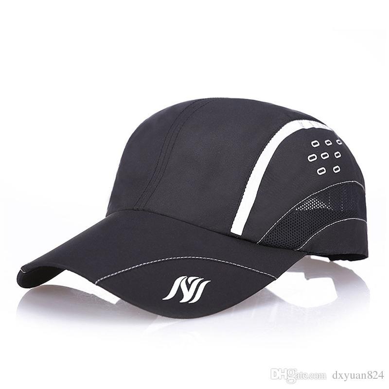 4736cae8 Women Men Outdoor Sports Baseball Cap Quick-drying Adjustable Hat  Lightweight Breathable Riding Hiking Fishing Traveling Casual Sun Hat Men  Baseball Cap ...