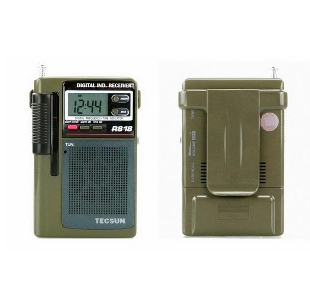 Wholesale-Tecsun / Desheng R-818 Full-band Digital Display Portable ...