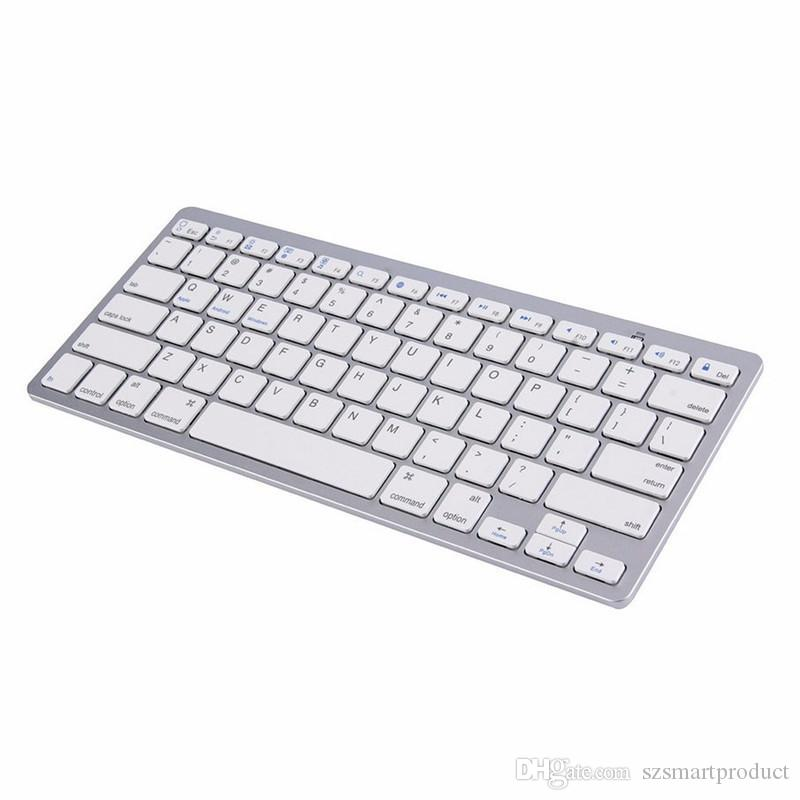 Ultra-slim Wireless Keyboard Bluetooth 3 0 for All Windows Android iOS PC  Tablet ASUS VivoTab Note 8 Microsoft Surface HP Stream Dell Venue