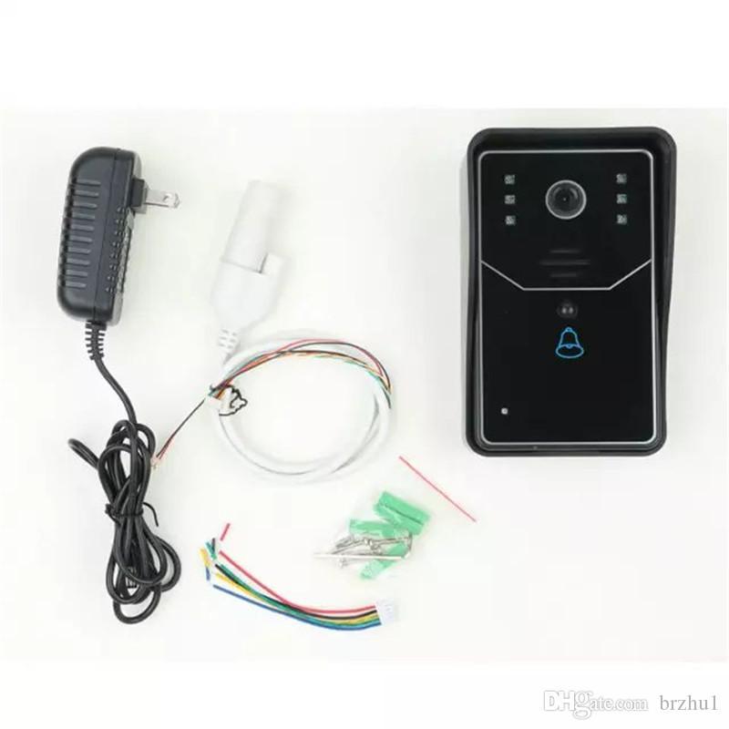 720p Wireless WIFI Doorbell With Indoor Bell