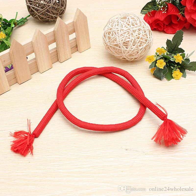 Random color Stiff Rope Close Up Street Magic Trick Kids Party Show Stage Soft Tricky Bend party/festival magic trick gift