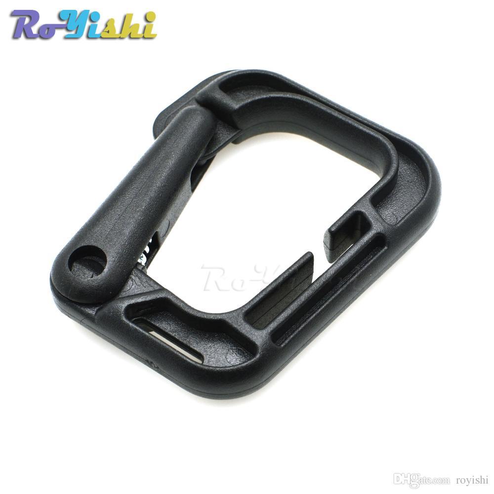 1pcs Carabiner Snap Hanging Hook D-Ring Strong Tactical Tac Link EDC Tool