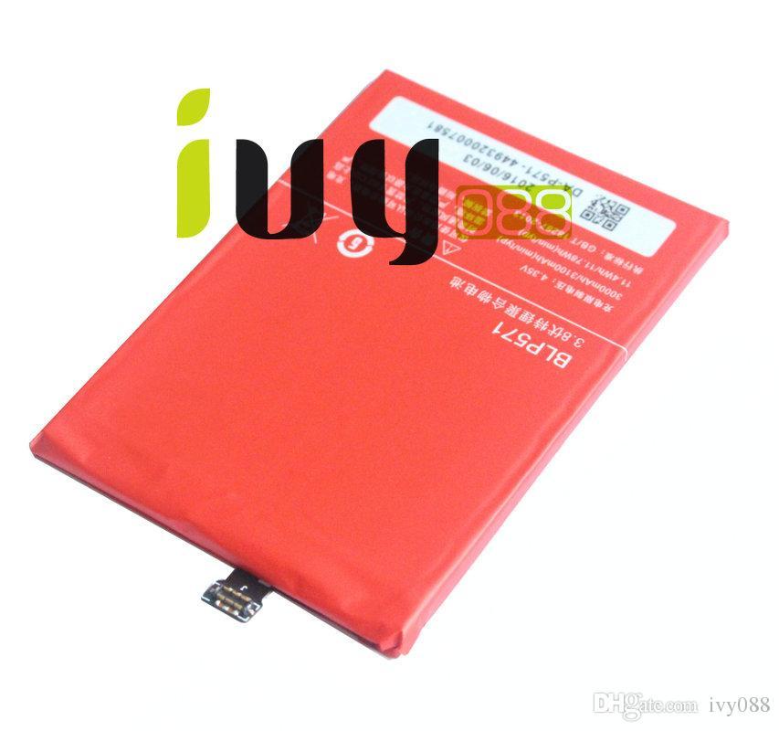 50 adet / grup 3000 mAh Orijinal BLP571 Yedek Li-Polimer Pil Için ONEPLUS 1 + Bir artı 64 GB 16 GB Piller Batteria Batterie