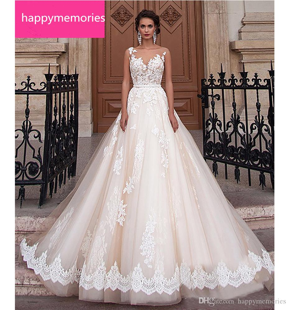 Discount New Stock Lace Wedding Dress 2017 Romantic Robes Of Sexy ...