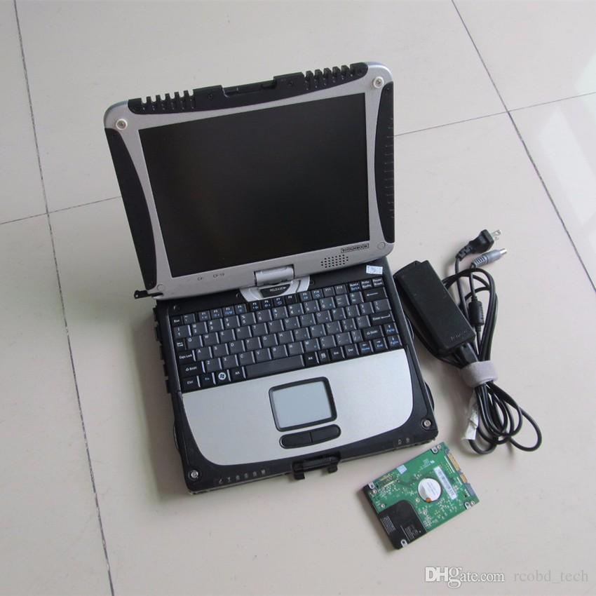 2019 New for MB Star Compact 4 with laptop SD Connect C4 For Mercedes Benz Diagnostic Tool toughbook cf19 installed version 320gb hdd
