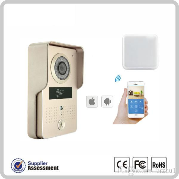 WIFI IP Doorbell 720P IR Night Vision Golden/Silver Color Optional