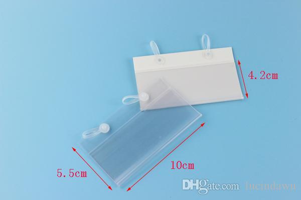 Custodia cartellino del prezzo in plastica Cartellino etichetta in plastica cartellino del prezzo in PVC