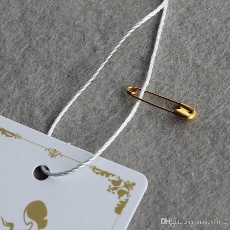 3 색 실버 블랙 골드 작은 니켈 도금 안전 핀 4 분의 5 '길이 19mm 도매 끊지 태그 wholesales