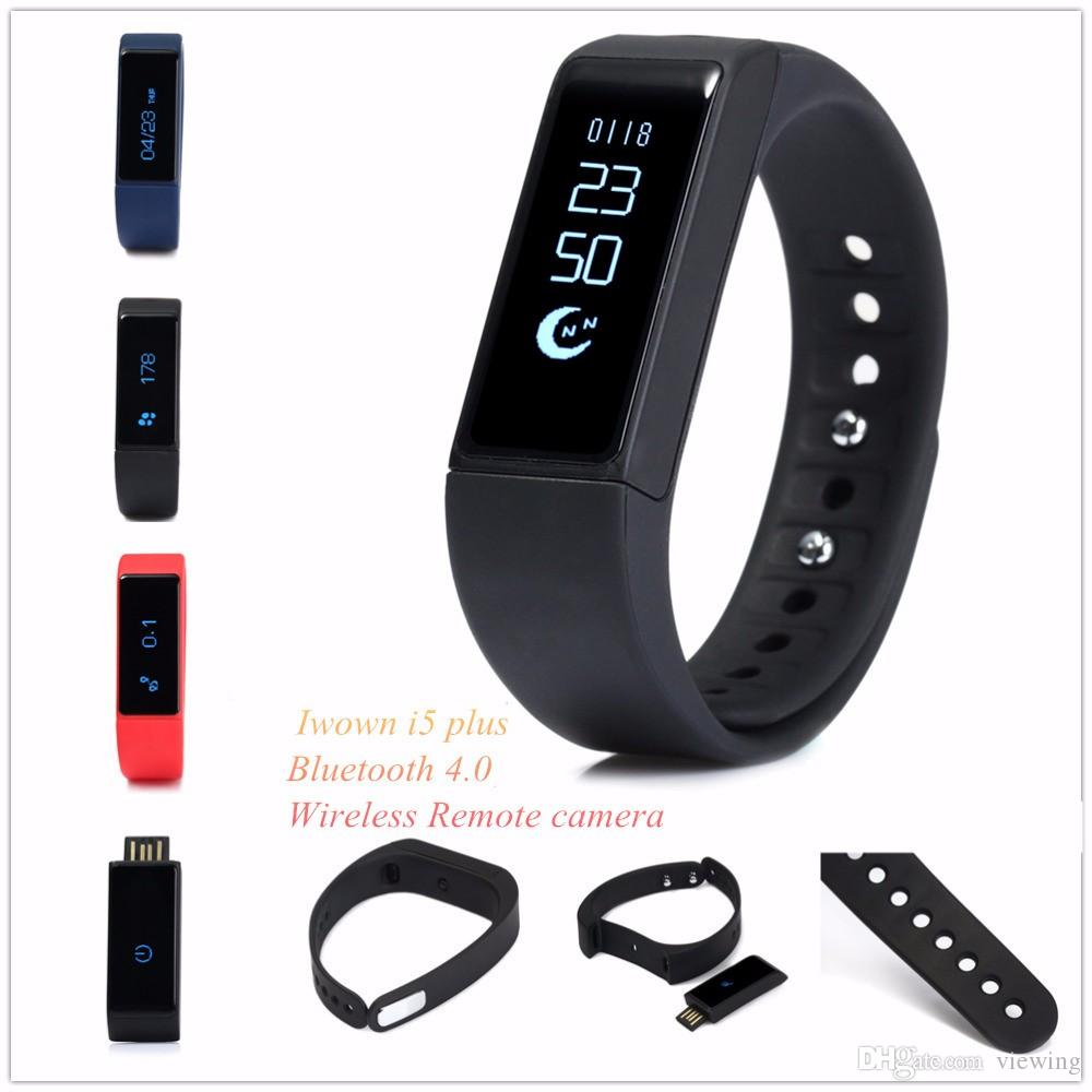 Smart Band i5 plus smart watch iwown i5plus Original Wristband Bluetooth  4 0 Sleep Monitor Bracelet Active Tracker For iPhone Samsung