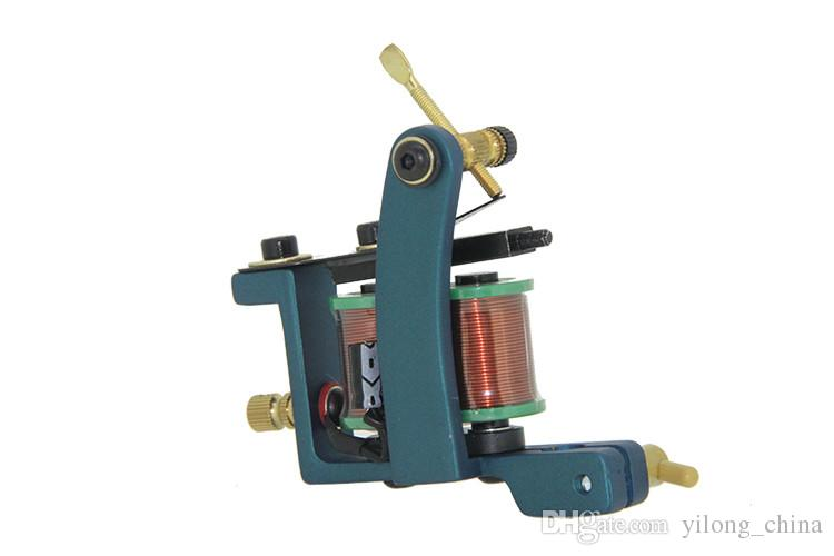 Hot Sale New Design Luo's Tattoo Machine Guns Handmade For Liner 10 Wrap Coils Tattoo Supply