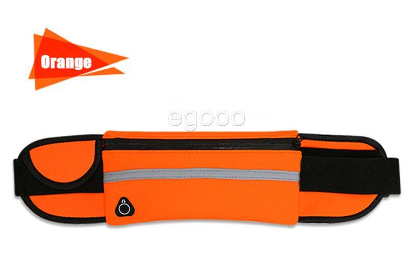 방수 허리 가방 야외 실행 스포츠 화니 팩 주머니 방수 전화 케이스 아이폰 X XS 최대 XR 8 7 6 플러스