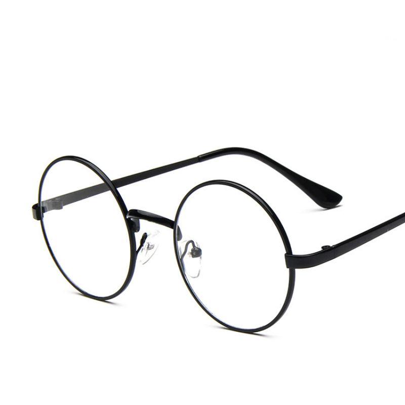 d105e10f42d 2019 Wholesale ANEWISH Fashion Eyewear Vintage Metal Round Glasses Frame  Women Men Eyelasses Clear Lenses Plain Glasses Oculos De Grau Feminino From  ...