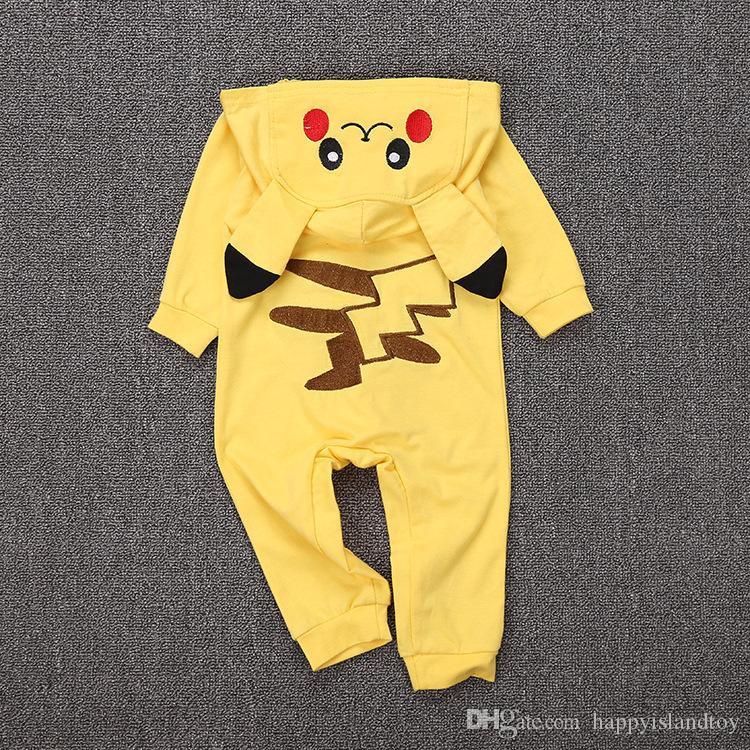 364975b52923 Funny Go Cotton Kigurumi Newborn Baby Boy Clothes Spring Infant ...