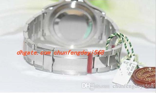 Montre-bracelet de luxe de mode Original-116622-Box-Papiere-von-2017 Montre-bracelet automatique pour homme Montre-bracelet pour homme