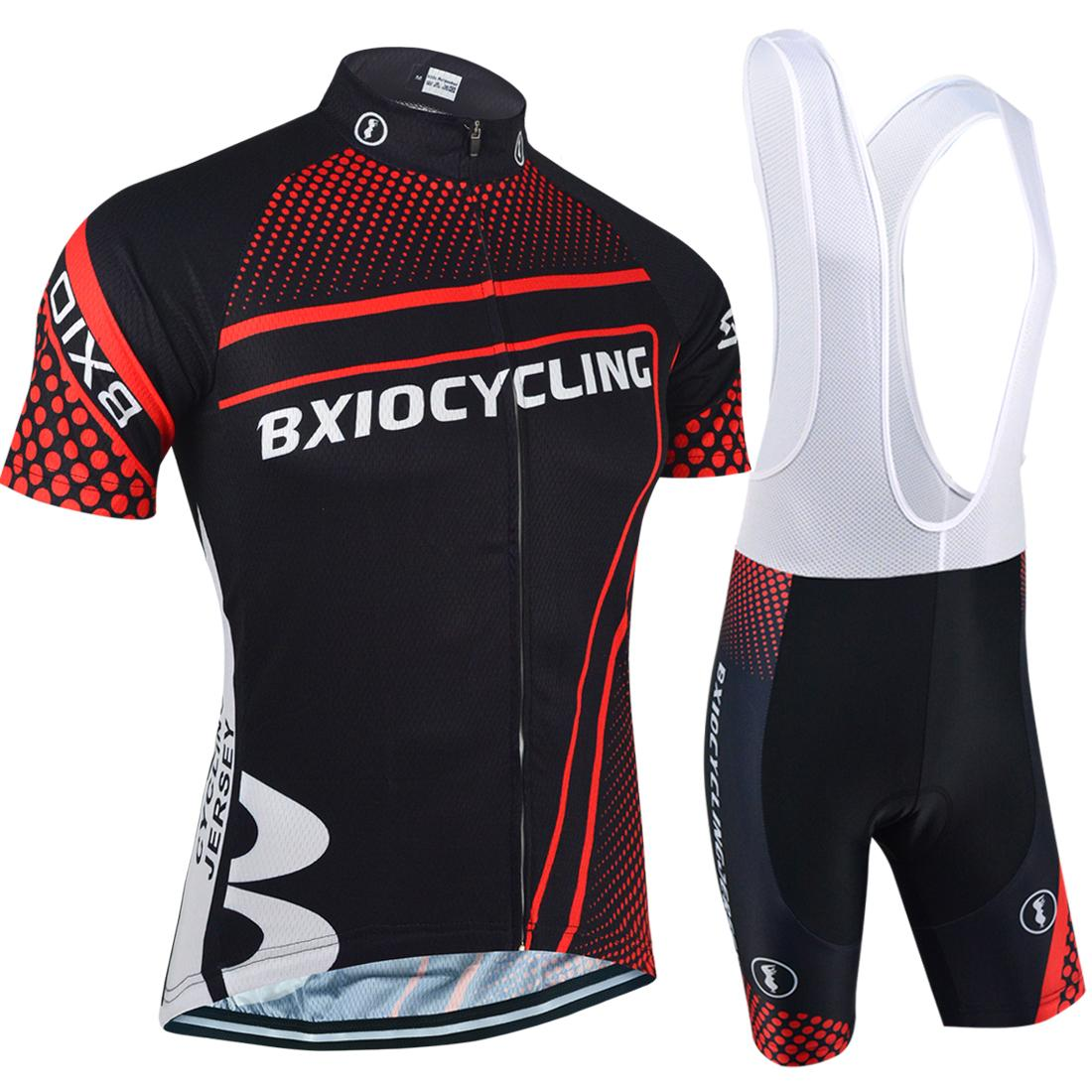 56e7244acc1 BXIO Cycling Clothes China Promotion Item Short Sleeve Sets Summer Zipper Sport  Cycling Jerseys Popular Recommended Cycling Clothing BX 087 Castelli Bib ...