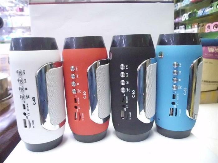 C-65 speaker alto-falantes sem fio bluetooth O novo criativo mini bluetooth estéreo subwoofer do telefone Móvel DHL grátis