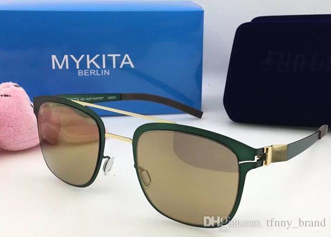 cfcde1cbec TOP QUALITY Mykita Sunglasses Ultralight Frame Without Screws Pilot Frame  Flap Top Men Brand Designer Sunglasses Online with  50.17 Piece on  Tfnny brand s ...