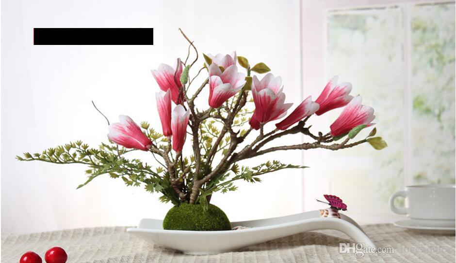 Modern San Sheng Lucky Shape Ceramic Vase for Home Decor Tabletop Vase