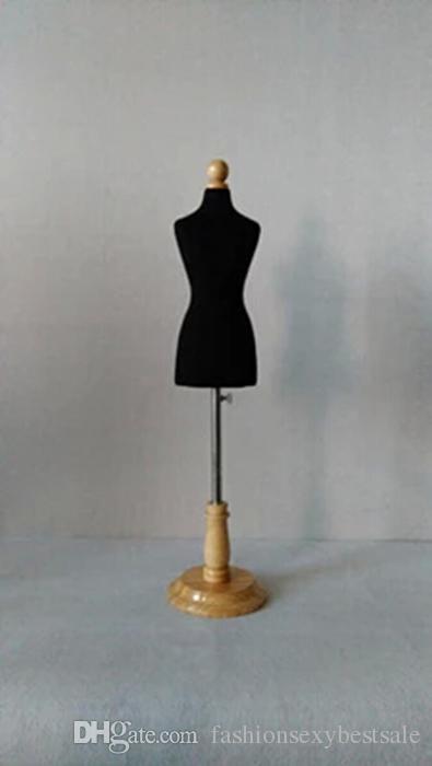 Ücretsiz kargo! 1 / 3Female elbise formu Manken, kadınlar için esnek dikiş, üst body1: 3scale Jersey bust düğmeli ahşap ayarlanabilir M00021