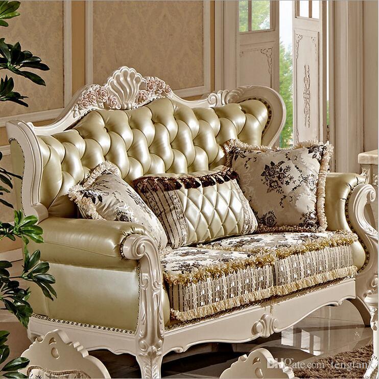 Großhandel Neue Ankunft Heißer Verkauf Hochwertige Europäische Antike Wohnzimmer  Sofa Möbel Echtes Leder Set Pfy10033 Von Tengtank, $4052.27 Auf De.Dhgate.