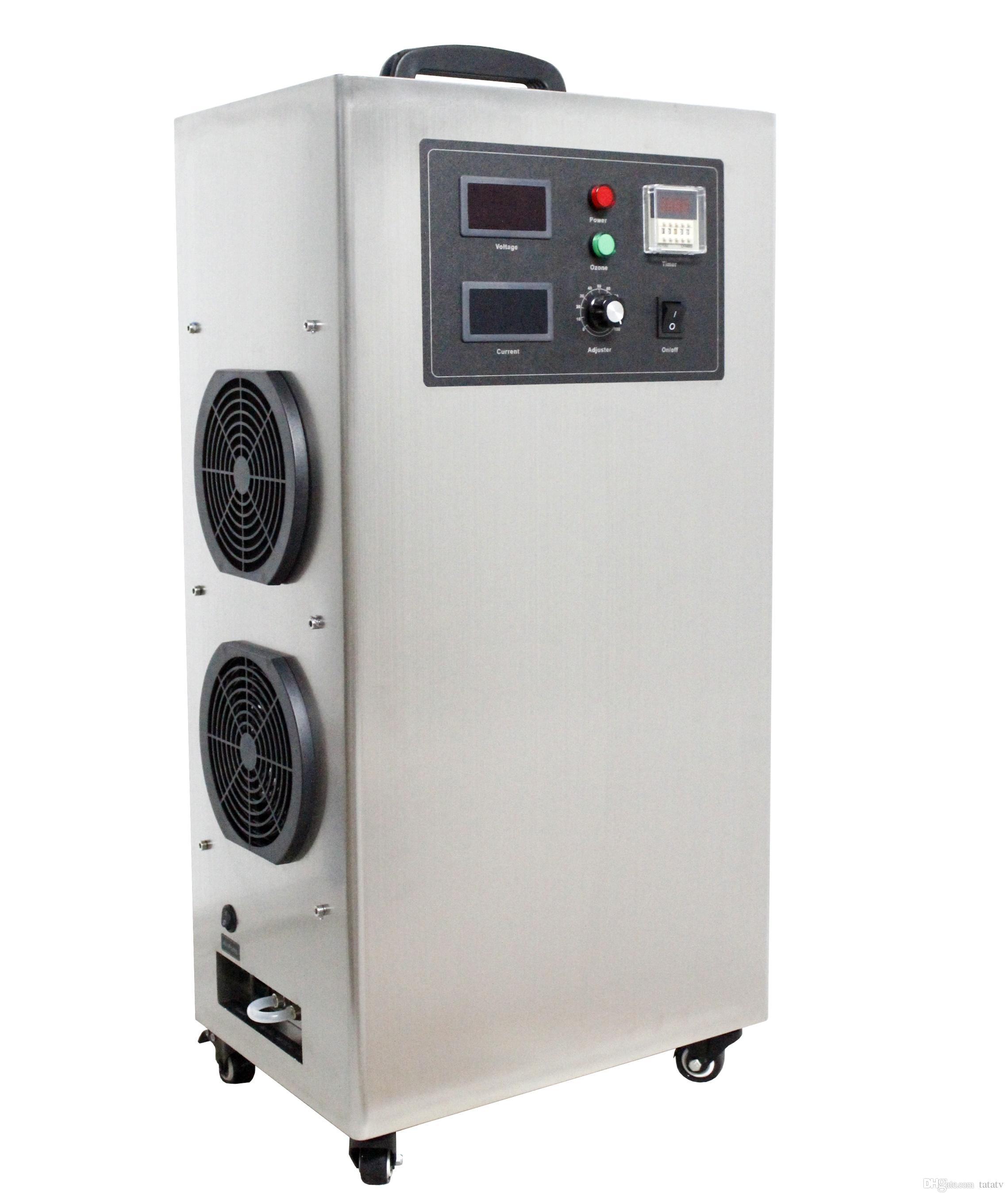 2018 20g ozone generator with 1 venturi injector for home for Koi pond venturi