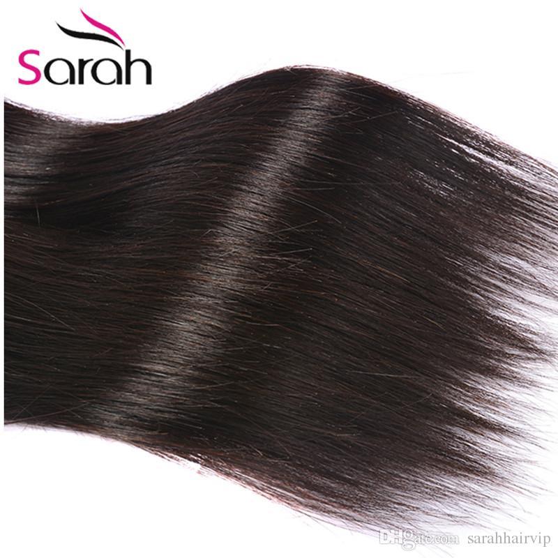 Peruvian Indian Malaysian Mongolian Cambodian Brazilian Straight Human Hair Weave Hair Bundles Cheap Human Hair Extensions Natural Color #1B