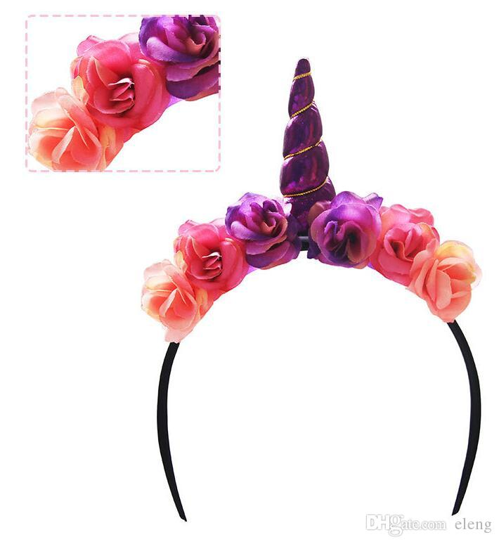 prom Cute Sheep Animal Horn Ear Unicorn Headband Headbands Halloween Fancy Dress Headwear Kids Cosplay Props Hair Accessories Decor #12