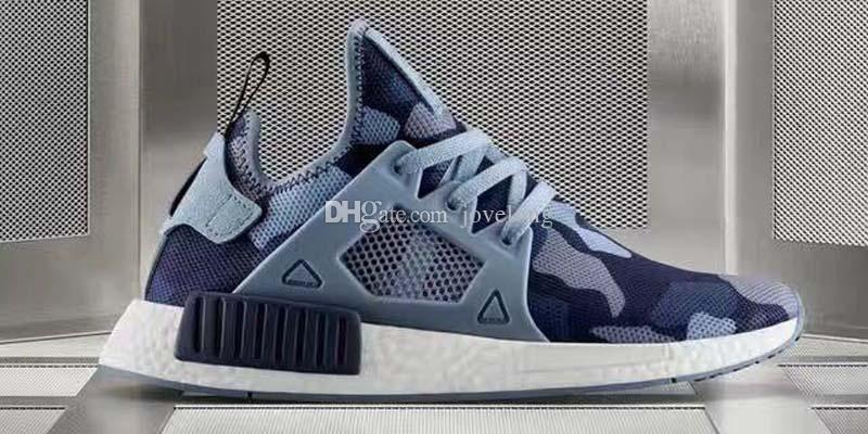 Hot Sale Wholesale Men And Women NMD XR1 NMD XR1 Black Friday Duck Camo olive BA7232 Kids Athletic Shoes