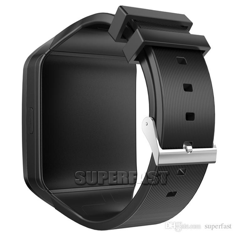 Q18 Smart Watch Bluetooth Montres intelligentes pour téléphones portables Android Assistance Carte SIM Appareil photo Répondre Appeler et configurer plusieurs langues avec Box