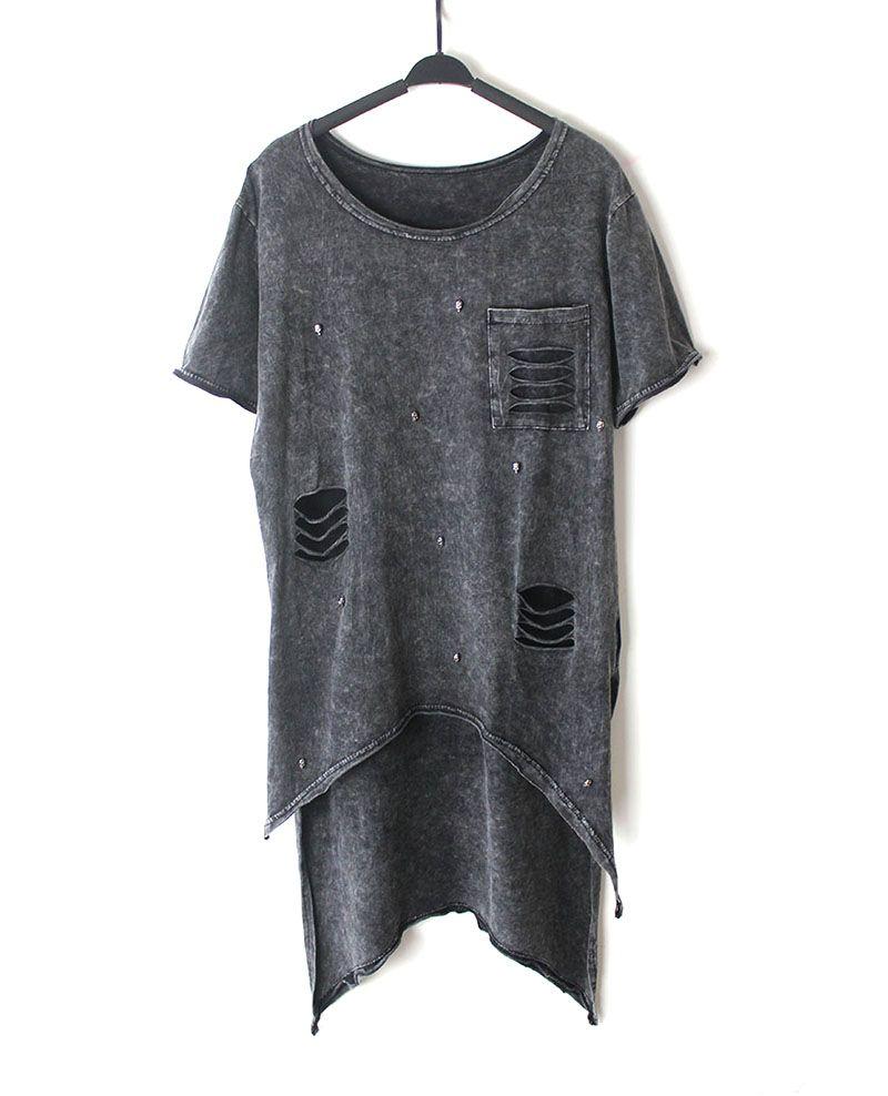 Wholesale T Shirt Women 2016 Summer Style Fashion Irregular Hem T ...