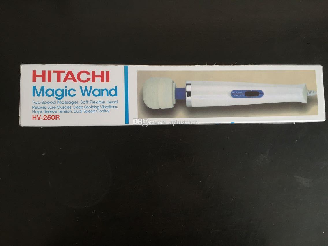 Hitachi Magic Wand Massager AV vibrador masajeador personal de cuerpo completo masajeador HV-250R 110-240V envío gratis