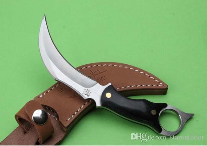 United UC120 Karambit Hibben Klaue Überleben Gerades Messer Micarta Griff Tactical Camping Jagd Überleben Taschenmesser Weihnachtsgeschenk Sammlung