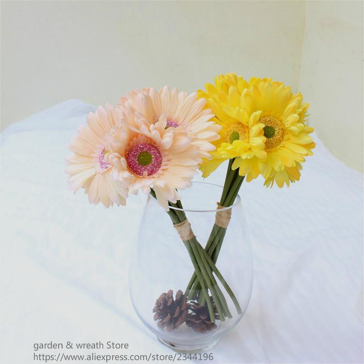 2018 artificial flowersbig daisy bouquetwedding flowers 2018 artificial flowersbig daisy bouquetwedding flowers arrangementhome decorationwhite red blue green yellow purple from sunyunqinglina mightylinksfo