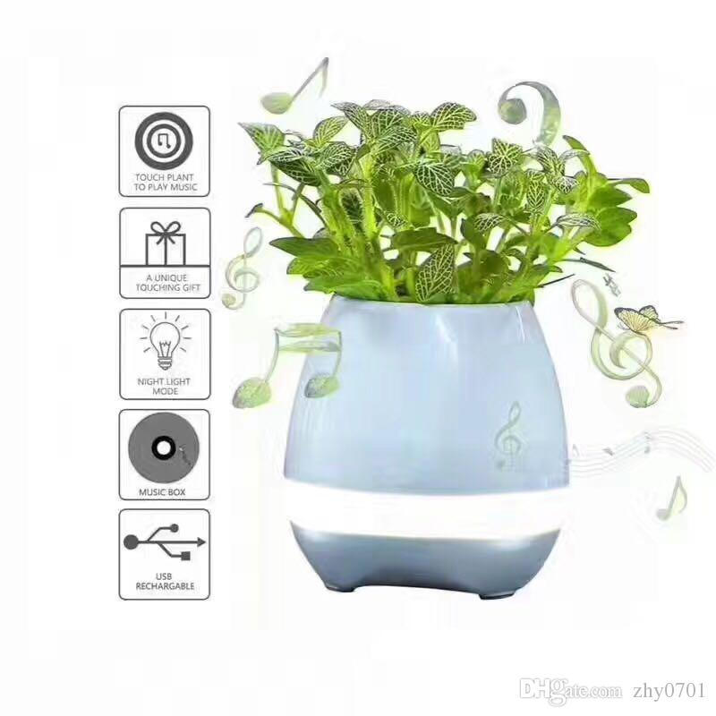 New Original Creative Music Vase Smart Music Pots Plant Intelligent