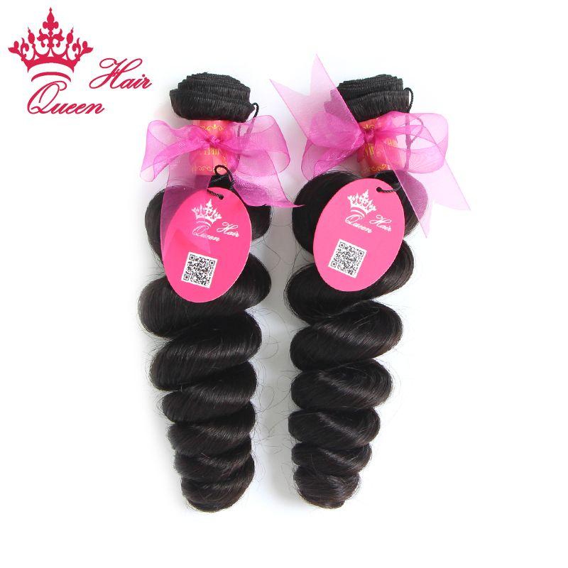 Cheveux de reine brésiliens vierges de cheveux humains tissés ondulés meilleure vente couleur naturelle extensions de cheveux en vrac vague beaucoup longueurs mélangées