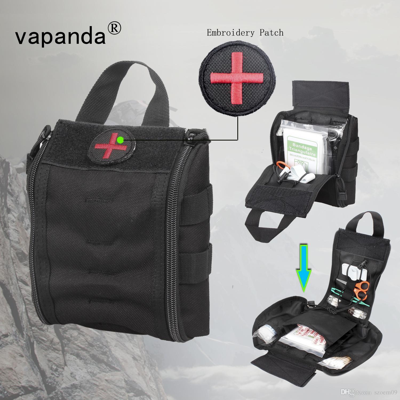 2018 Vpanda Nylon Medical Bag Tactical First Aid For Doctor Edc Bowling Handbag Emt Rip Away Ifak Survival Sport Travel Emergency Bags From Szoem09