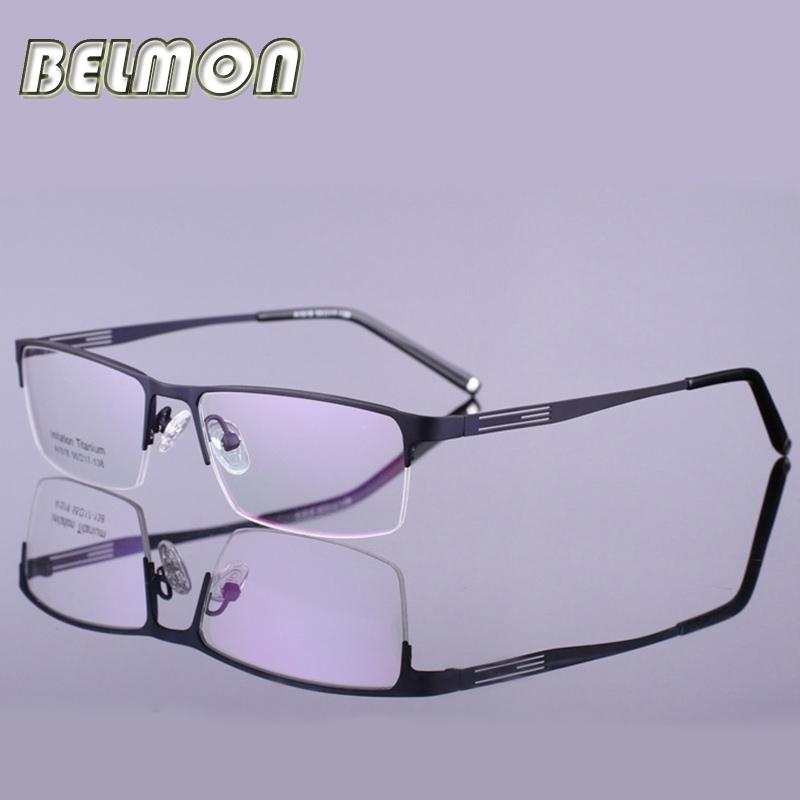 Compre Al Por Mayor Gafas De Montura De Gafas Hombres Nerd De ...