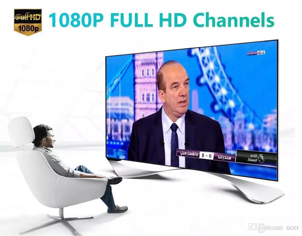 Ucer IPTV Sunucusu Avrupa IPTV Fransa İNGILTERE Almanya İspanya M3U Smart TV Android için IPTV Kanalları Android Enigma2 MAG Canlı + VOD Kanalları