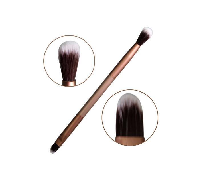 Fashion Makeup Cosmetic brushes Double-Ended Eye shadow Brush Tool Eyeshadow Blending Brushes Eye Makeup
