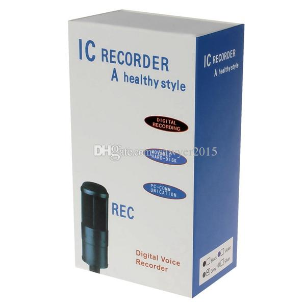 8GB Digital Voice Recorder MINI Dictaphone With MP3 Player Support LIN-IN Recording and Telephone Recording in retail box