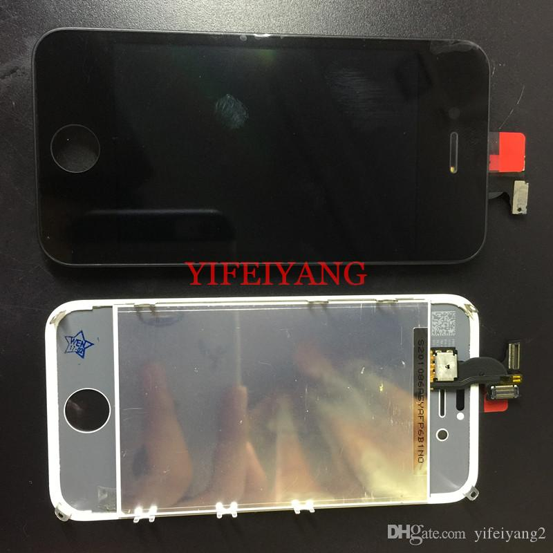 No Dead Pixel LCD For iPhone 4s 5 5c 5s 6 6s 6p 6sp 7 7p LCD Display With Touch Screen Digitizer Assembly Free DHL EMS