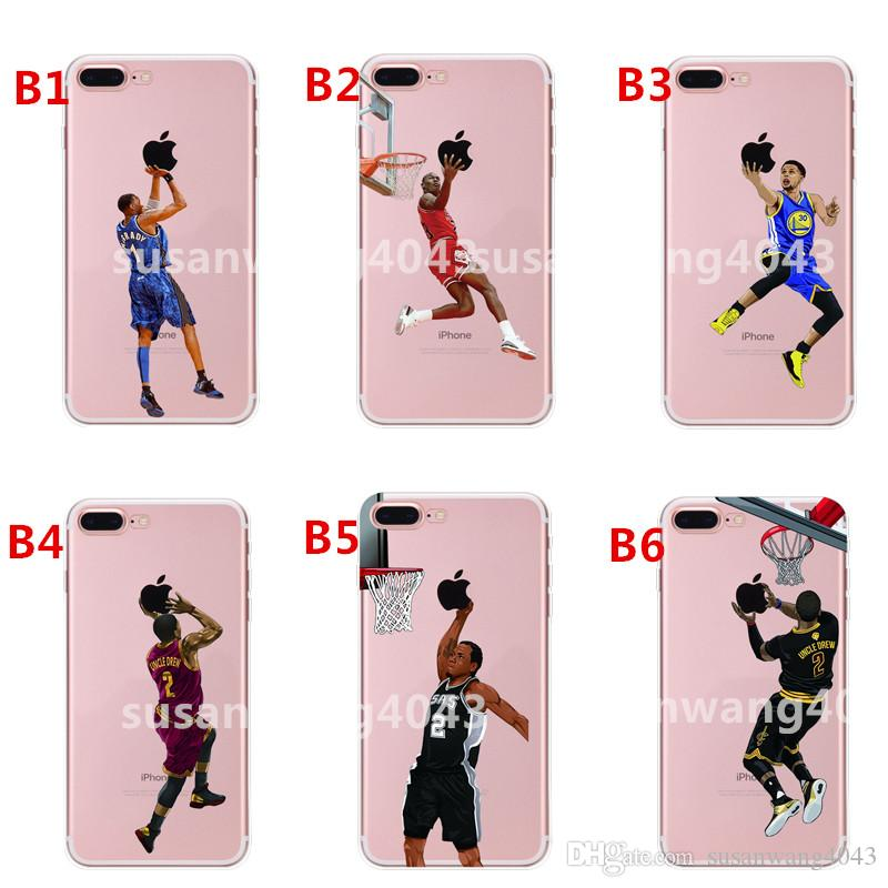 Curry Kobe LeBron Designer Phone Cases for iphone X XR XS Max 8 7 6 plus S8 S9 hard PC Painting Cover Shell Basketball Case Hull GSZ398