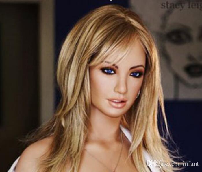 sex toys for men Demi-silicone amour poupée vagin mis en place et agrippant les mains