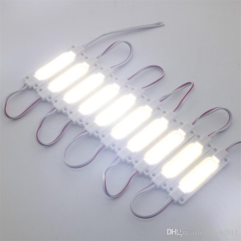 Edison2011 /bag 1.5W IP65 Waterproof DC12V Led COB Module Light Advertising Lamp Led Background Light Warm White/Red/Blue