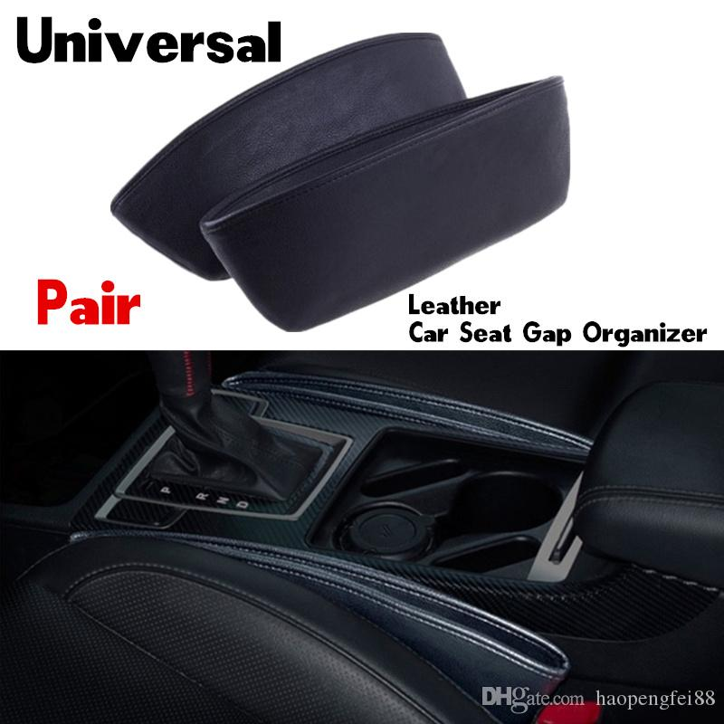 Creative Car Storage Box Leather Auto Car Seat Gap Pocket Catcher