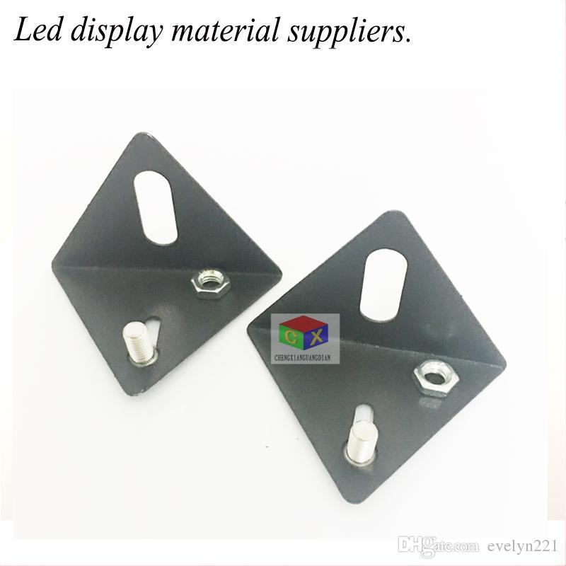 Sinais LED Triângulo Corrigido Pingente LED Publicidade Tela Instalação Acessórios Anéis Pequenos Pingente LED Acessórios LED