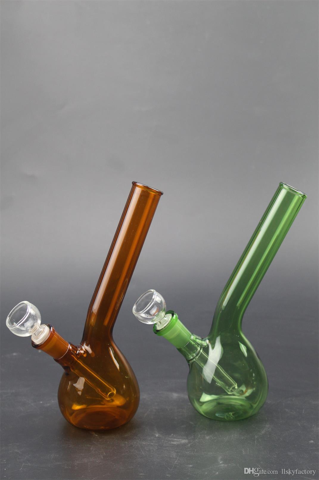 Blue Green Orange Three Color Glass Bowls Glass Water Pipes Male Bowl Thickness Large Capacity for Oil Rigs Bongs